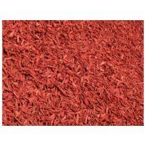 Színezett dekor faapríték, vörös, 70L, mulcs