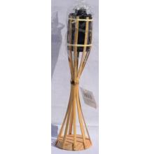 Bambusz fáklya talpas 35 cm
