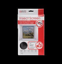 Szúnyogháló ablakra 100 x 100 cm fekete