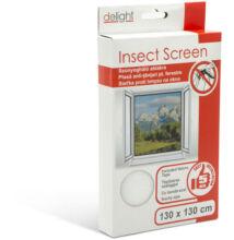 Szúnyogháló ablakra 130 x 130 cm fehér