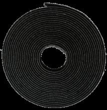 Rögzítőszalag szúnyoghálóhoz fekete 5,6 m