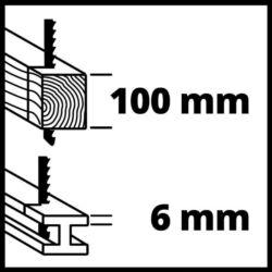 Einhell TE-AP 18 Li akkus orrfűrész Power X-Change