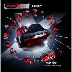 Einhell Power X-Change akkus gépszett 1.  (2 db ajándék akkuval és töltővel)
