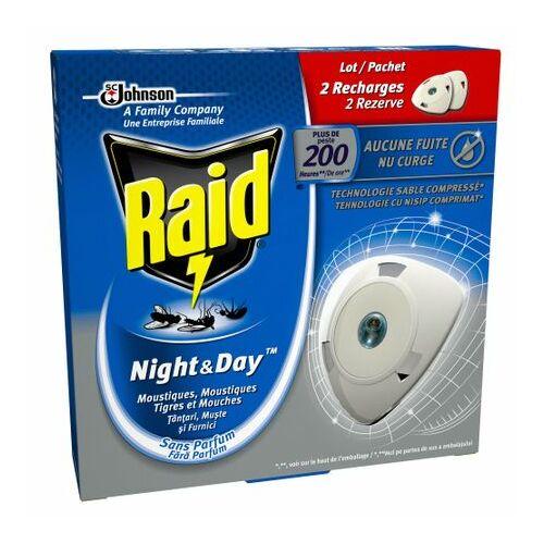 Raid Night&Day Szúnyog-Légyirtó korong utántöltő 1 db