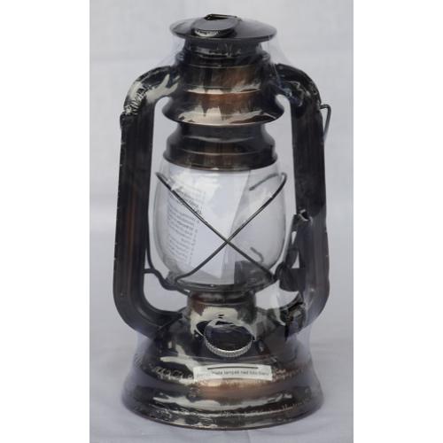 Lámpás- viharlámpa bronz 25 cm