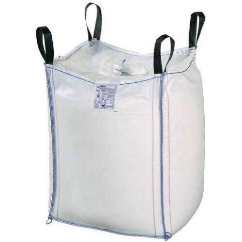 Big Bag zsák 110x110x170cm, 1,25 tonna teherbírás, ürítőnyílással