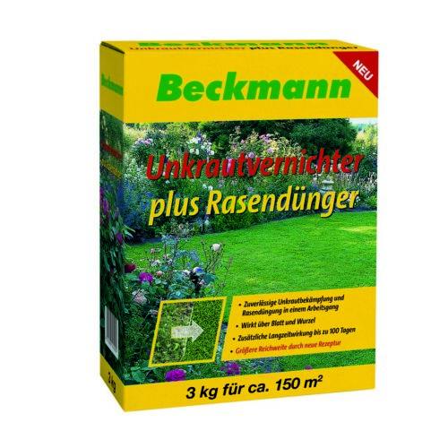Beckmann gyomirtó gyeptrágya, 3 kg, 150m2