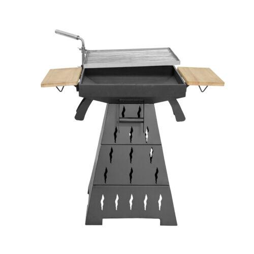 Hecht VESUV 3in1 kerti grill +BBQ +tüzrakó