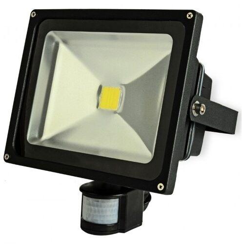 LED reflektor mozgásérzékelős 30W (kültéri)