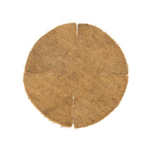 Nature Hold alakú lapos kókuszbélés 25 cm-es kosárhoz, D40 cm, barna