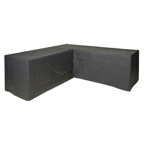 Nature Kerti bútor takaró L alak, 90 x 250 x 90 cm, grafitszürke