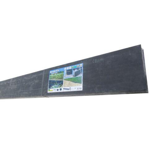 Nature Tó és ágyásszegély, 10 mm - 14 cm x 2 m, fekete