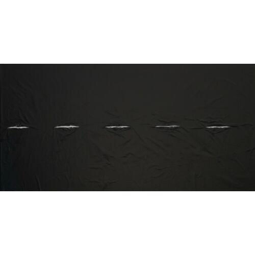 Nature LDPE/LLDPE talajtakaró fólia, fekete, 0,95 x 10 m