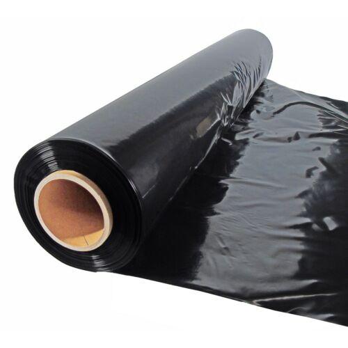 Nature fekete talajtakaró fólia, ültetőnyílások nélkül 2 x 100 m - 80 μ