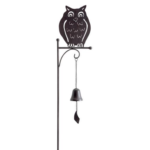 BELLMET dekoratív fém leszúrható állatkák csengővel