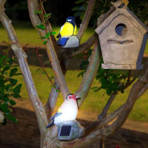 Nortene WILDBIRD színes, napelemes madárfigura