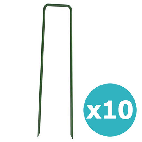 Nortene Fixsol fémkapocs - 10db/csomag
