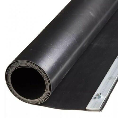 Gyökérvédelem HDPE, bambusz-szegély, 70cm x 5m, 1,2mm vastag