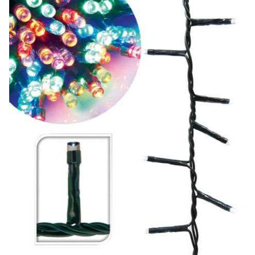 120 LED-es karácsonyi fényfüzér, 8 mozgó beállítással, színes