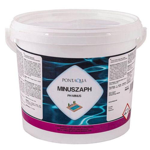 PH csökkentő medence vegyszer Pontaqua Minuszaph 6kg