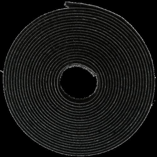 Rögzítõszalag szúnyoghálóhoz fekete 5,6 m