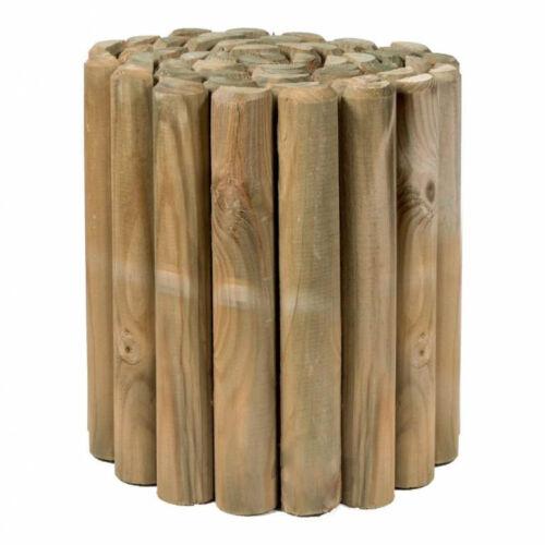 Ágyásszegély fa 20 cm magas 2 m hosszú, 5 cm vastag