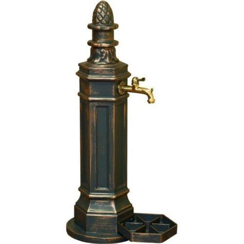ROMA állókút Antikolt bronz