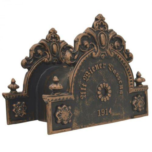 TOSCANA tömlőtartó Antikolt bronz