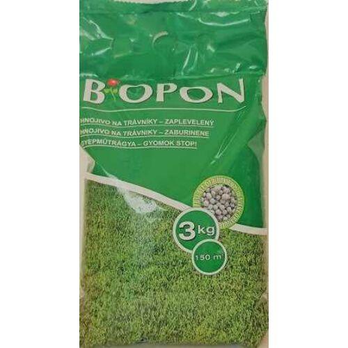 BIOPON Gyep Műtrágya gyom-stop 3 kg