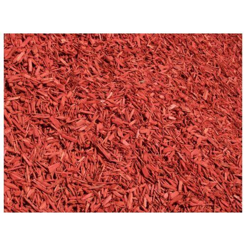 Színezett dekor faapríték, vörös, 70L