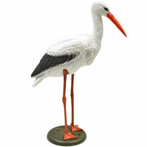 Ubbink  Álló gólya, 80 cm - Élethű műanyag madárfigura
